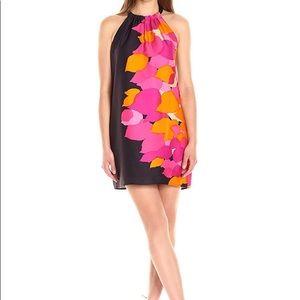 Trina Turk Roe Kona Leaf Sleeveless Dress